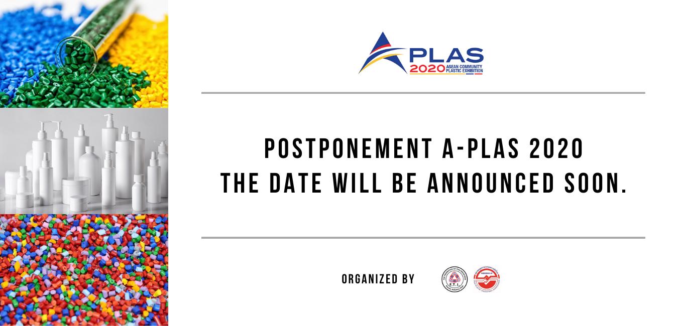 A-PLAS_Postpone Web Banner
